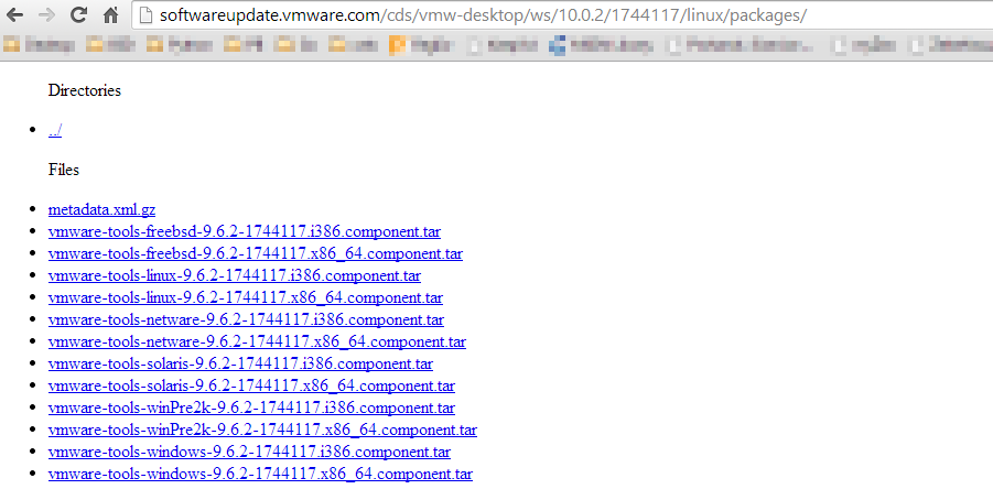 Using the newest VMware tools (from VMware Workstation 10